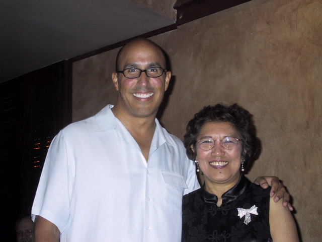 Vicki Bragin with Paul Romero