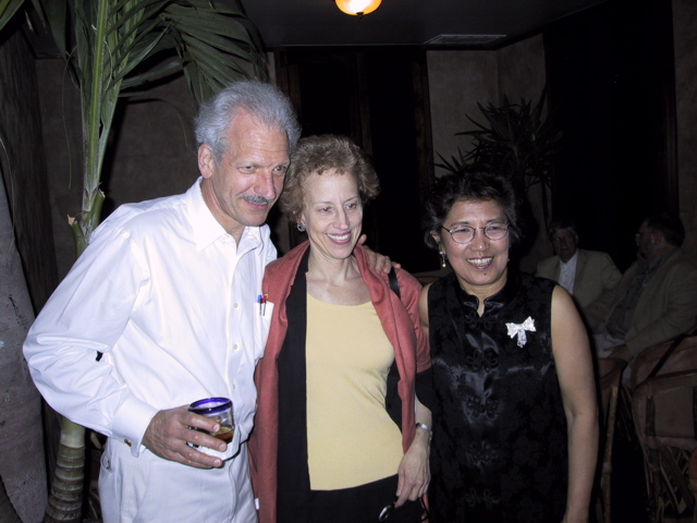 Vicki Bragin with Richard Rodzinski and Alina Rubinstein